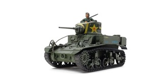 Tamiya Panzer M3 Stuart Light Tank 1:35 Kit Plas..