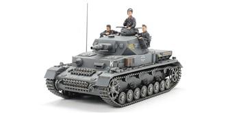 Tamiya Panzerkampfwagen IV Ausf. F 1:35 Kit P