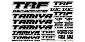 Decor Tamiya TRF (C)