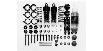 Dämpfer Set schwarz Set2 DTM, F-1, Buggy, 55-70 mm
