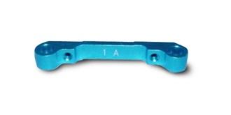 TA05 Suspension Mount 1A Tuning ALU blau