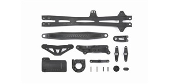 TT01-E D-Parts Oberdeck (nur für Type-E Chassis)