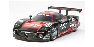 Karosserie TAM Nissan R390 GT1 190mm unlack.