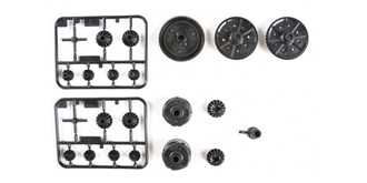 TT02 G-Parts (Getriebe+Diffteile)
