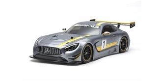 Karosserie Tamiya Mercedes-AMG GT3 Body unlackiert