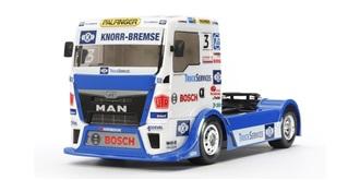 Karosserie Tamiya Truck Hahn Racing unlackiert