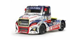 Karosserie Tamiya Truck Buggyra Fat Fox unlackiert