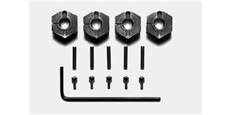 Radmitnehmer 6-kant 12mm Alu 6mm geschraubt 4St
