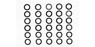U-Scheiben 5mm x,1/,2/,3 für Spielau..