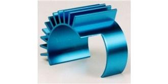 TT01 Motorkühlkörper ALU blau