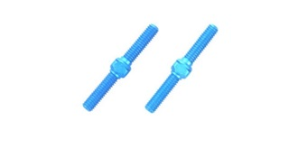 Spurstangen M3x23mm ALU blau