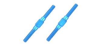 Spurstangen M3x32mm ALU blau