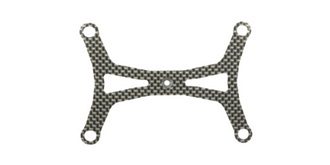 M-Chassis M-06 Batteriehalter Carbon