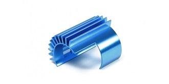 TT02 Motorkühlkörper ALU blau