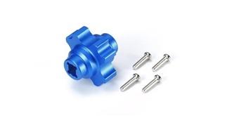TT02 Diffsperre ALU blau