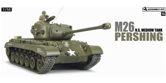 RC Kit Panzer Tamiya M26 Pershing FullOption 1:16