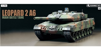 RC Kit Panzer Tamiya Leopard 2 A6 FullOption 1:16
