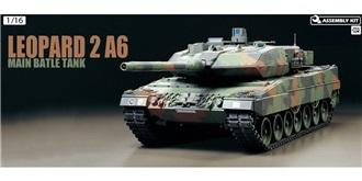 RC Kit Panzer Tamiya Leopard 2 A6 FullOption 1:16