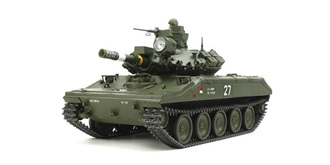RC Kit Panzer Tamiya M551 Sheridan FullOption 1:16