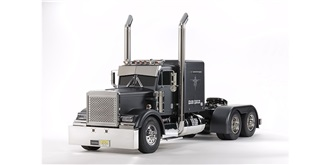 RC LKW Tamiya Grand Hauler Matt Black 1:14