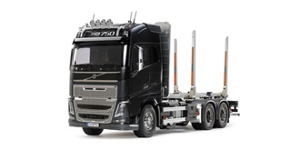 RC LKW Tamiya Volvo FH16 750 6x4 Timber Truck 1:14