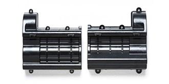 LKW Getriebebox schwarz matt
