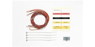 LKW LED 3mm rot für MFC mit Kabel 1100mm