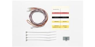 LKW LED 3mm weiss für MFC mit Kabel 1100mm