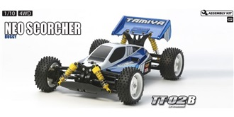 RC Kit Tamiya Neo Scorcher TT-02B 1:10 4WD Buggy