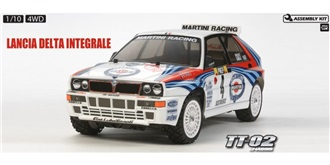 RC Kit Tamiya Lancia Delta Int. 1:10 TT-02