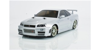 RC Kit Tamiya Nissan Skyline R34 Drift TT-02D 1:10