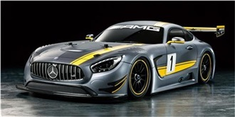 RC Kit Tamiya Mercedes AMG GT3 TT-02 1:10