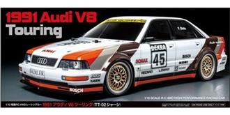 RC Kit Tamiya Audi V8 DTM 1991 TT-02 1:10