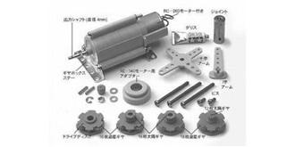 Planetengetriebe m Motor Technicraft  4:1-400:1