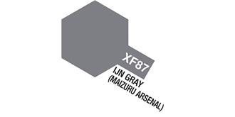 Farbe XF 87  IJN Gray matt Acryl 10ml