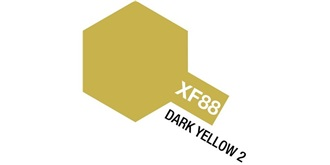 Farbe XF 88 Dark Yellow 2 matt Acryl 10ml
