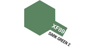 Farbe XF 89 Dark Green 2 matt Acryl 10ml