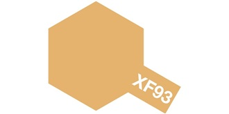 Farbe XF 93 Light Brown DAK 1942 matt Acryl 10ml