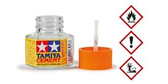 Tamiya Plastikkleber mit Pinsel 20ml