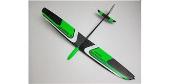 RC Flug Tomahawk Slingshot grün DLG 1,0mm RH RTF