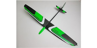 RC Flug Tomahawk Slingshot grün DLG 1,0mm LH RTF