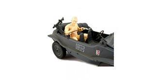 Figur Funker Schwimmwagen 1:16 Bausatz