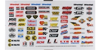 Decor Traxxas Racing Sponsor