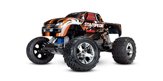 RC Car Traxxas Stampede 2WD orange 1:10 RTR