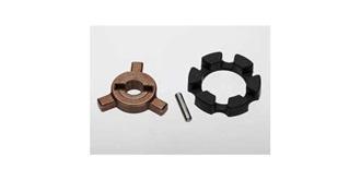 Cush drive key/ pin/ elastomer damper           ..