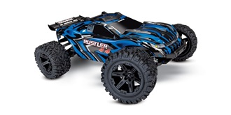 RC Car Traxxas Rustler 4x4 Brushed blau 1:10 RTR