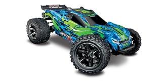 RC Car Traxxas Rustler VXL 4WD grün 1:10 RTR