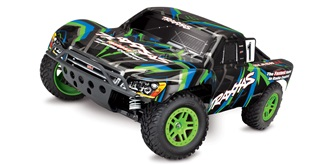 RC Car Traxxas Slash 4x4 1:10 grün Brushed RTR