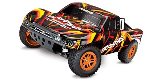 RC Car Traxxas Slash 4x4 orange 1:10 Brushed RTR