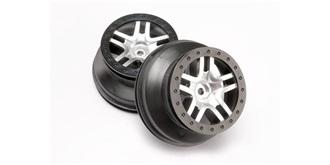 Slash4WD Felgen SCT Split-Spork satin chrome